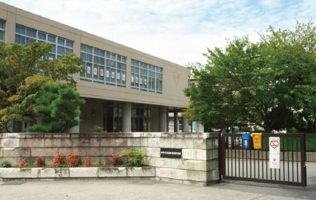 市立加古川中学校(徒歩5分/約400m)