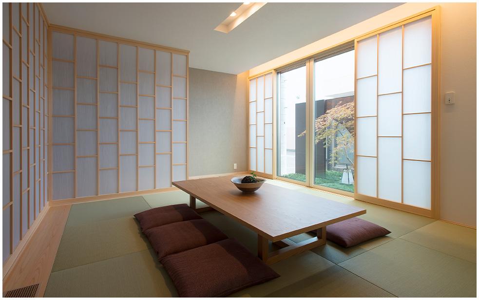 鉄骨系住宅 ABC加古川展示場 内観写真:和室