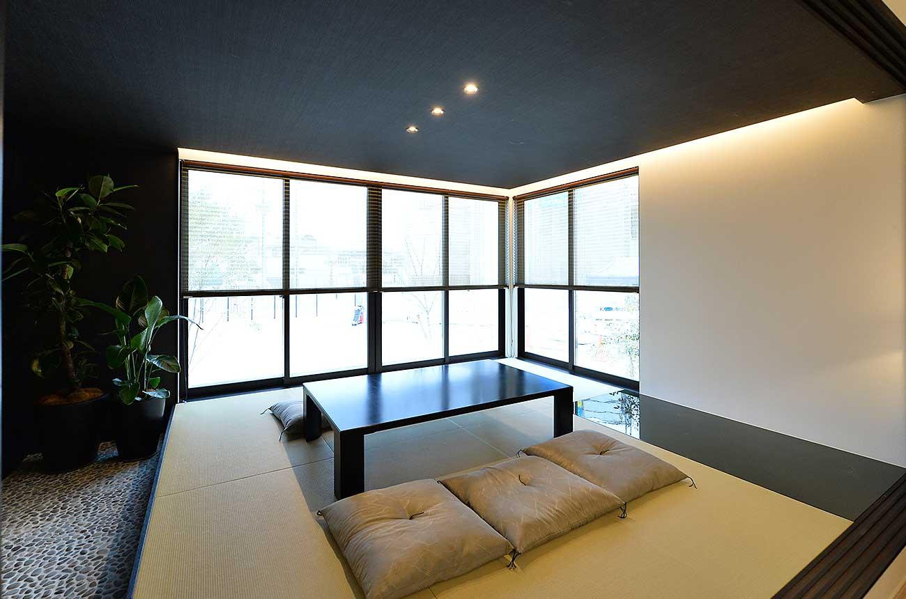 鉄骨系住宅 姫路展示場 内観写真:和室