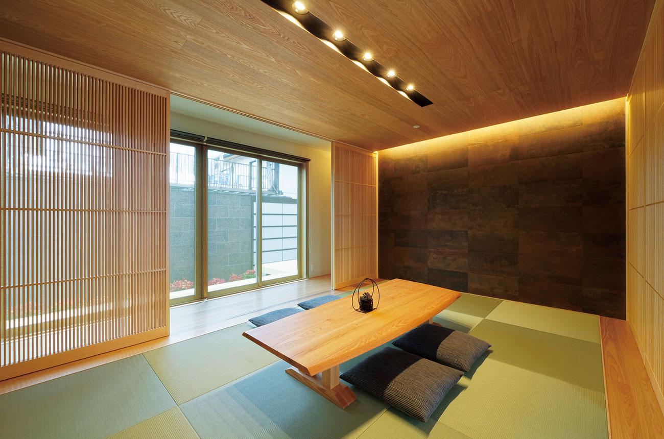 鉄骨系住宅 姫路リバーシティ展示場 内観写真:1F 和室
