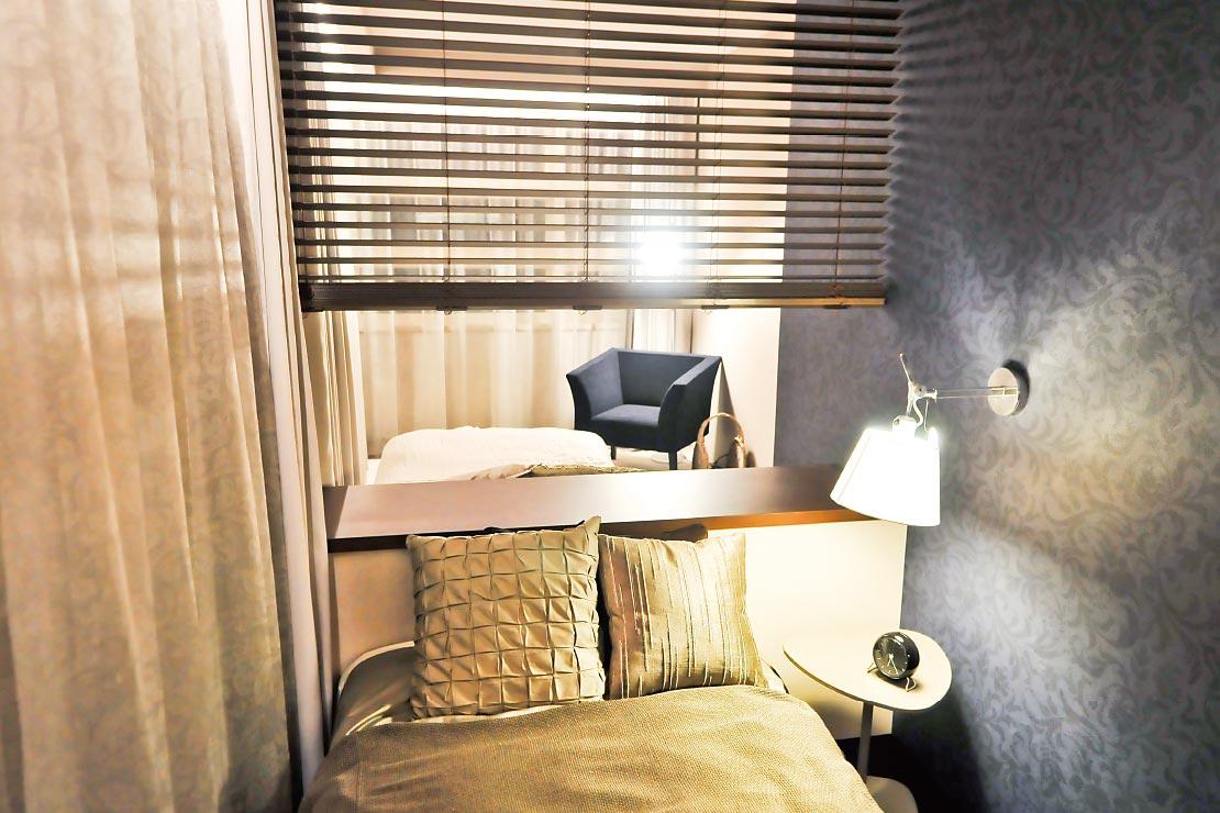 鉄骨系住宅 加古川展示場 内観写真:主寝室
