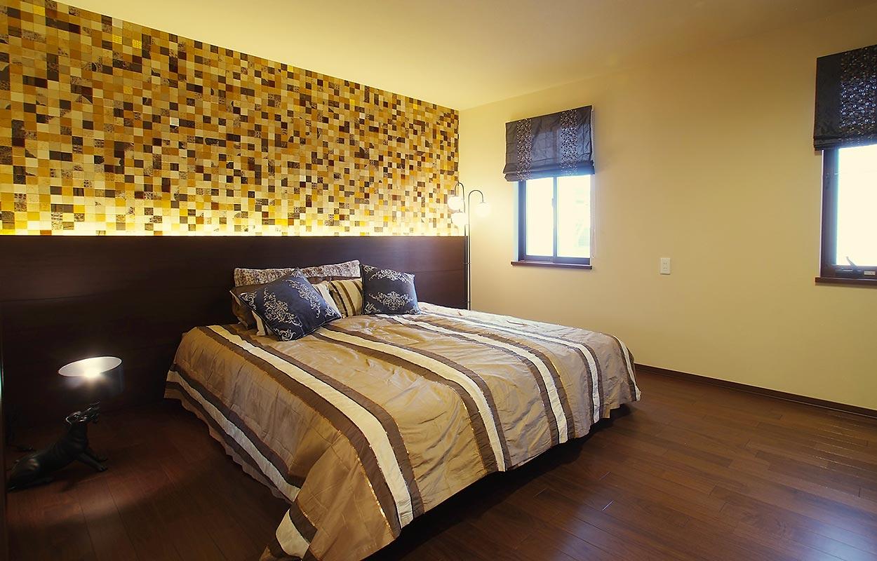 鉄骨系住宅 住まいの情報プラザ デシオ展示場 内観写真:主寝室