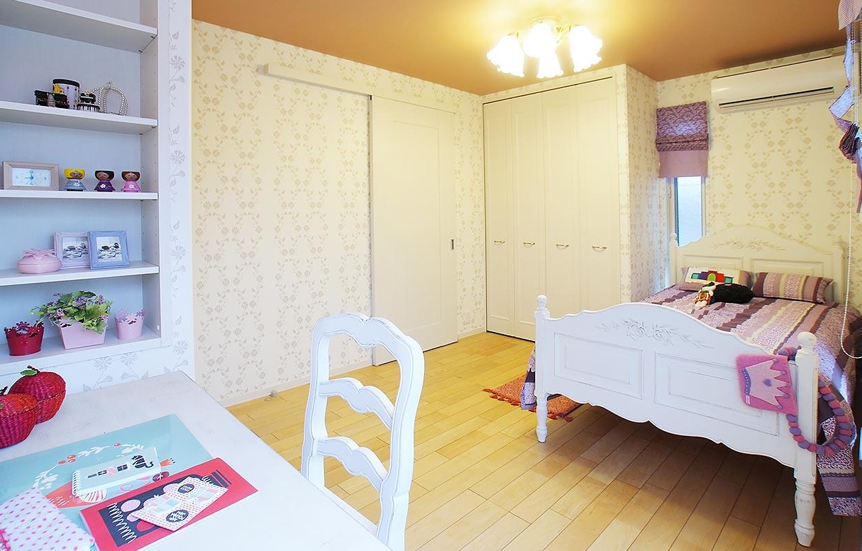 鉄骨系住宅 住まいの情報プラザ デシオ展示場 内観写真:子ども部屋