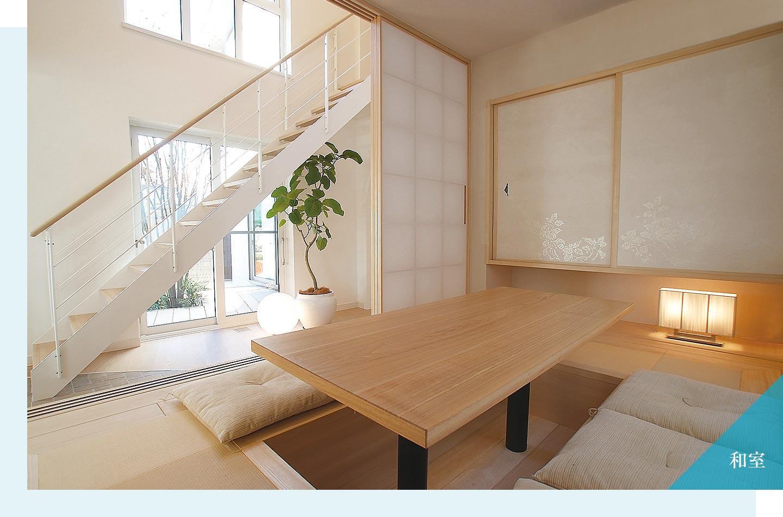 木質系住宅 ABC加古川展示場 内観写真:和室