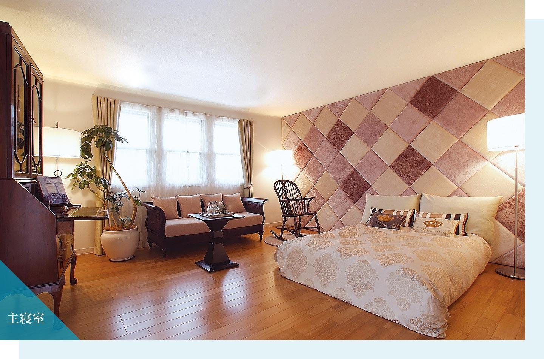 木質系住宅 ABC加古川展示場 内観写真:主寝室