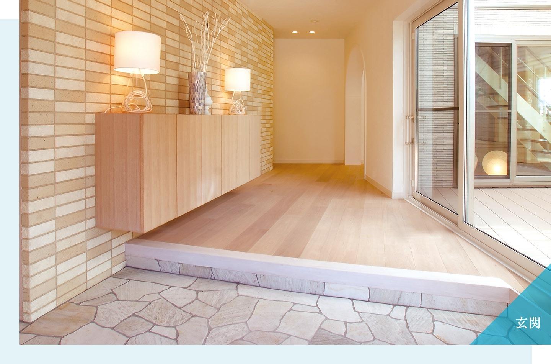 木質系住宅 ABC加古川展示場 内観写真:玄関