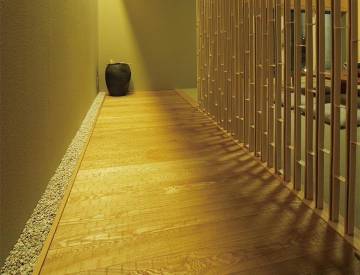 木質系住宅 姫路リバーシティ展示場 内観写真:和室02