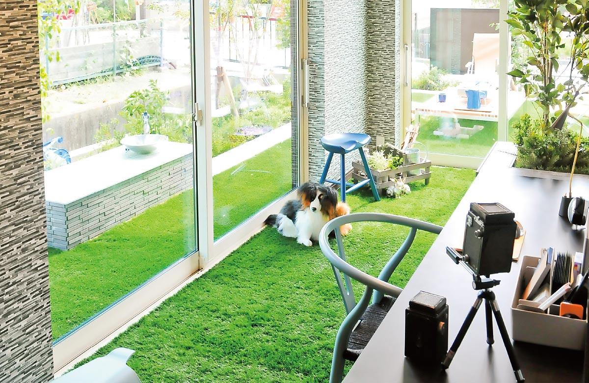 木質系住宅 加古川展示場 内観写真:リビングルーム02