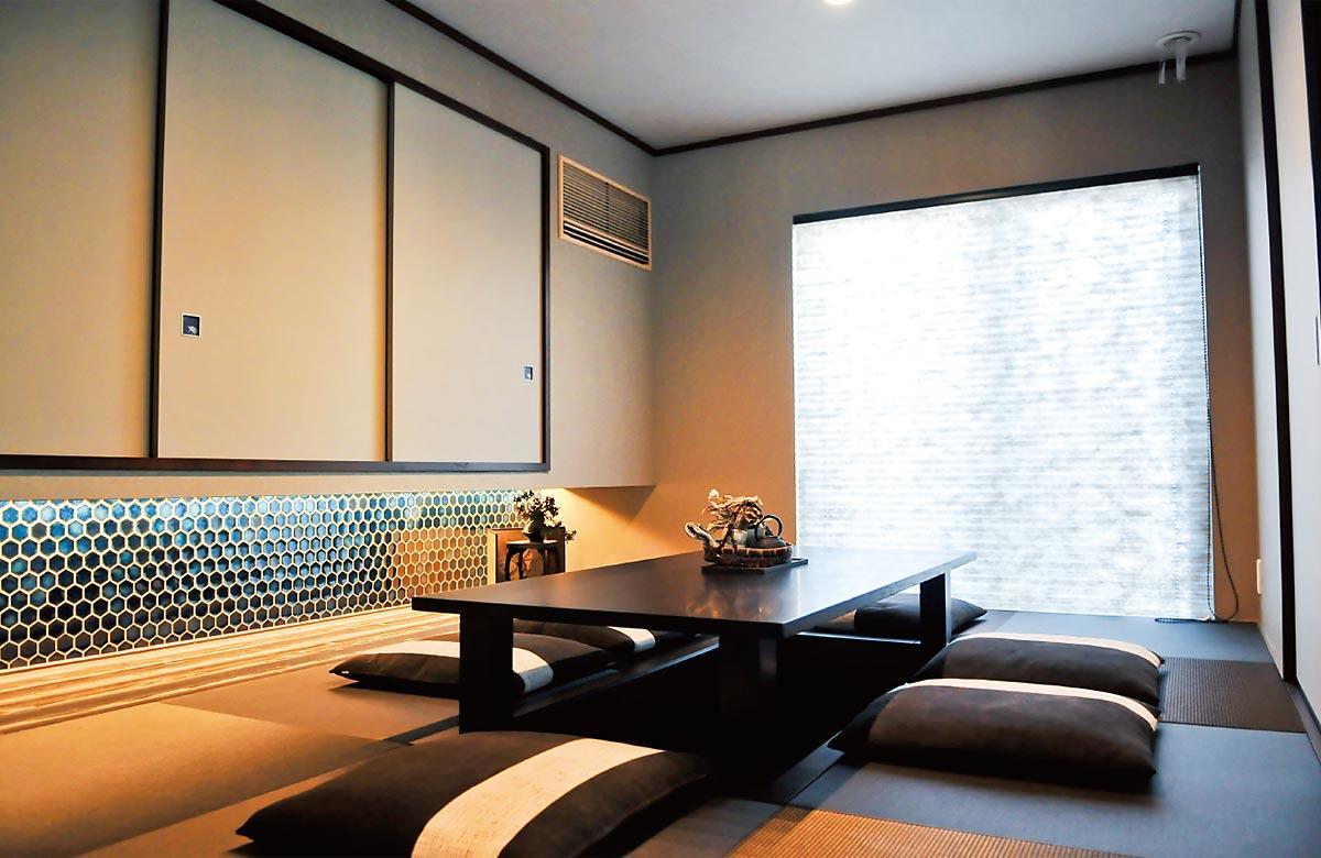 木質系住宅 加古川展示場 内観写真:和室01