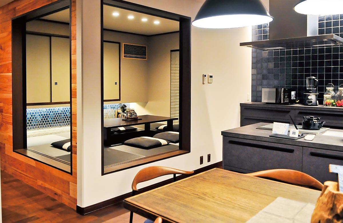木質系住宅 加古川展示場 内観写真:和室02