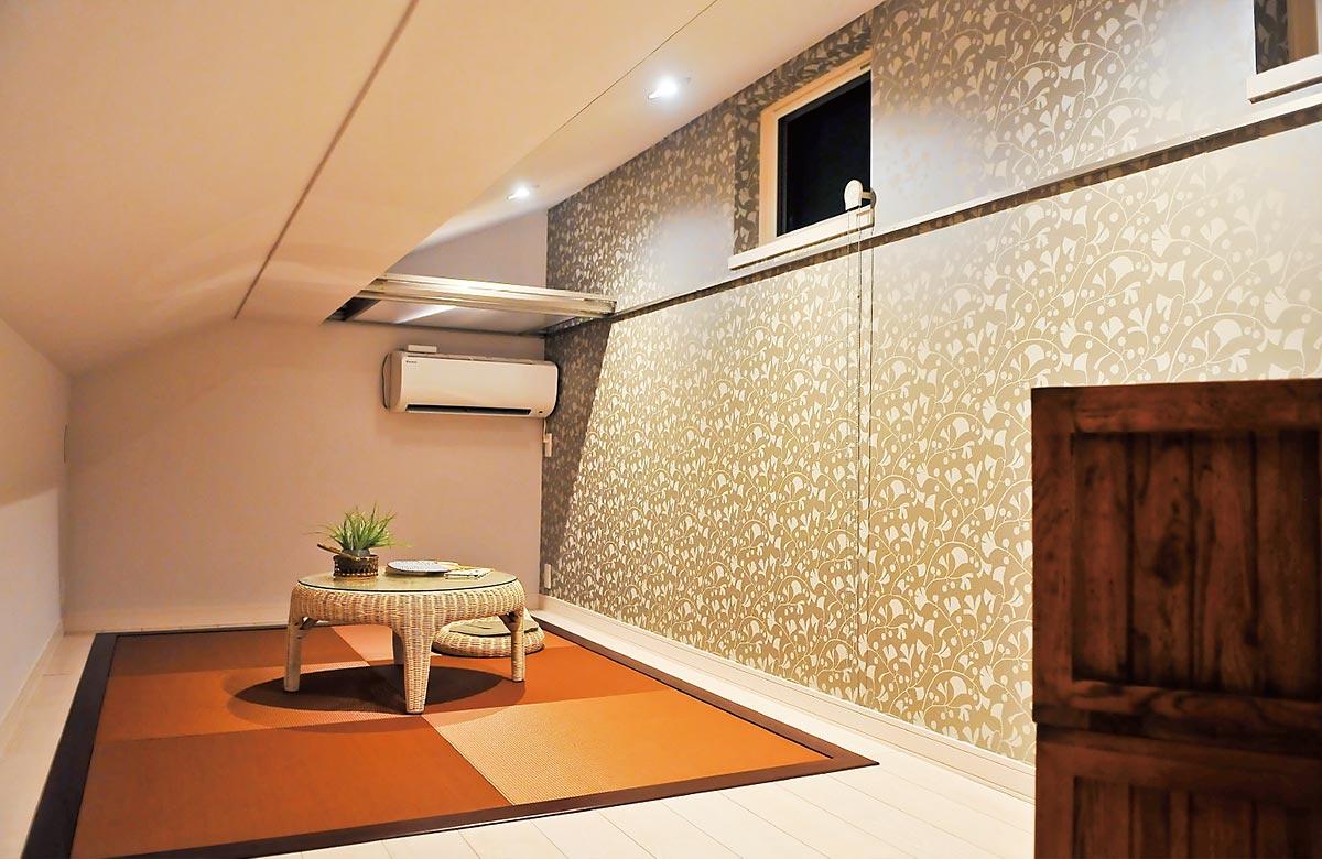 木質系住宅 加古川展示場 内観写真:主寝室02